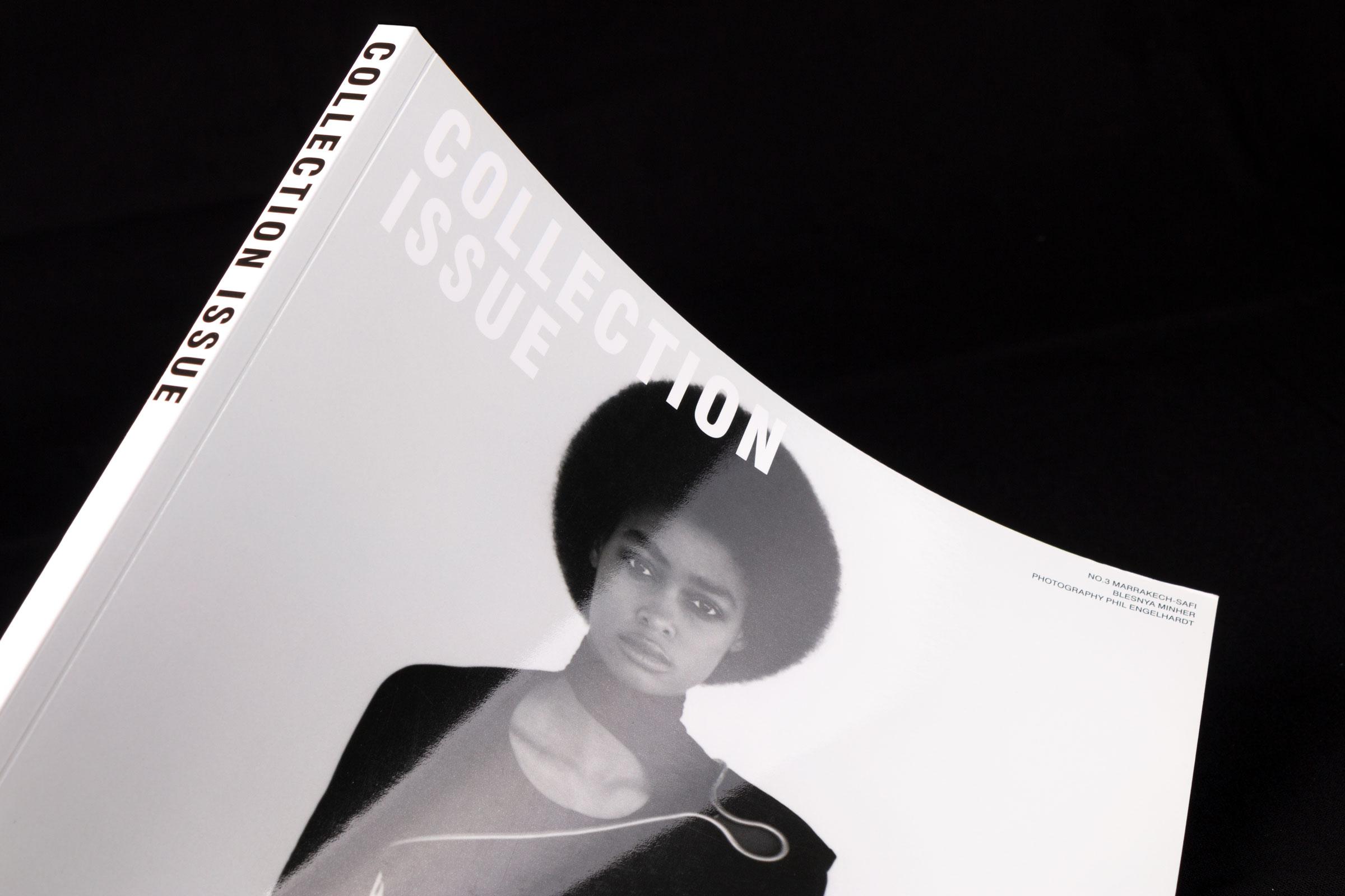 Revista Collection Issue amb acabat pel·liculat brillant