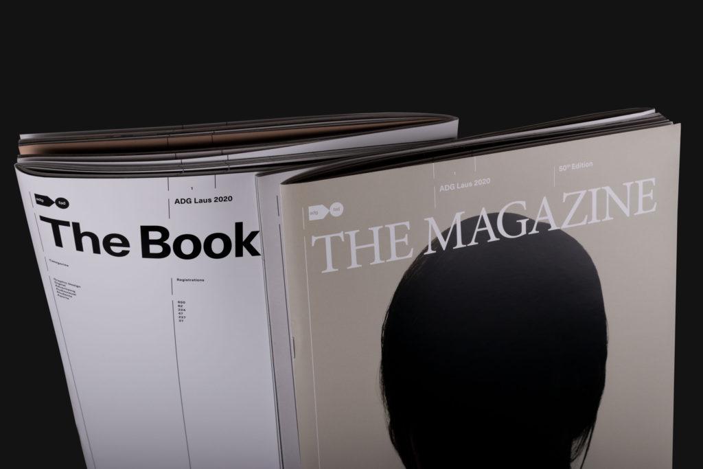Cobertes revista - llibre Premis ADG Laus
