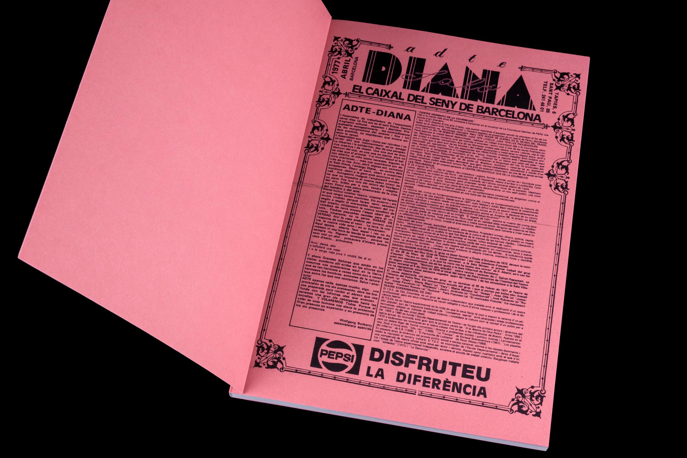 Saló Diana paper Munken Pure Rough