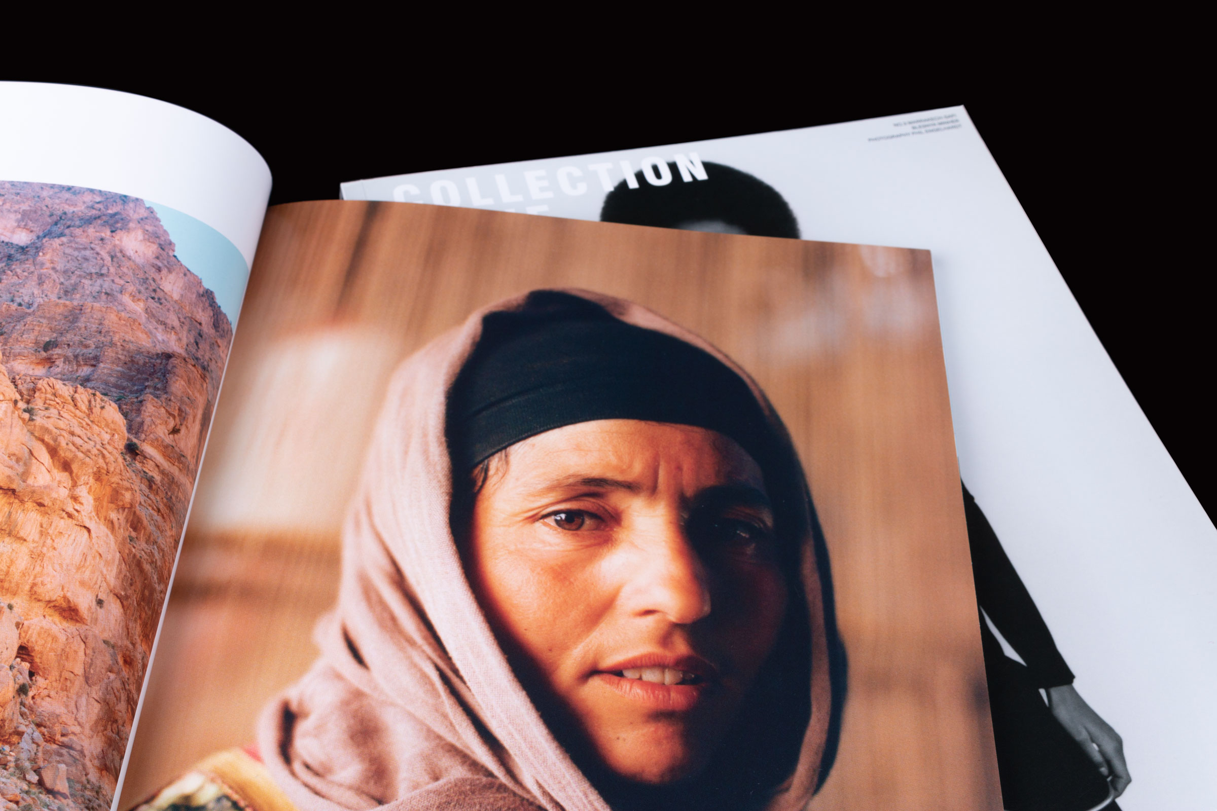 Revista Collection Issue paper estucat semimate